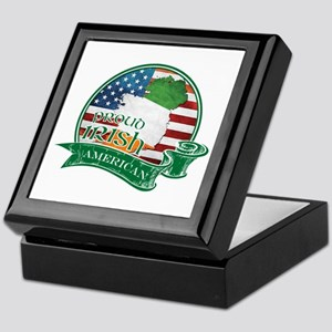 Proud Irish American Keepsake Box
